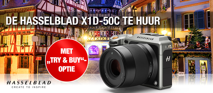 De Hasselblad X1D-50c als Try & Buy bij Calumet Rent